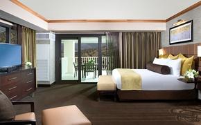 Картинка дизайн, стиль, комната, интерьер, балкон, спальня
