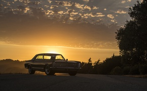Обои buick, 1965, riviera, sunset