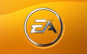 Картинка желтый, бренды, Electronic Arts