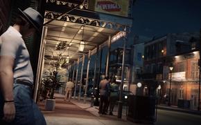Картинка ночь, город, огни, game, 2016, Mafia III, Мафия 3