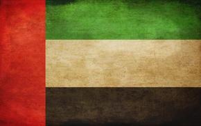 Обои флаг, flag, UAE, ОАЭ