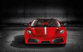Обои ferrari, f430, феррари, авто, машина, красный