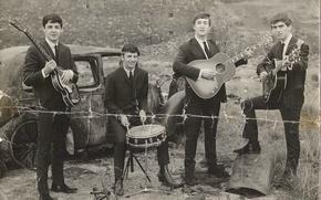 Обои музыка, The Beatles, легенда