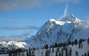Картинка Nature, Winter, Snow, Mountains