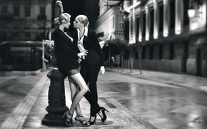 Картинка улица, девушки, город, Tango more