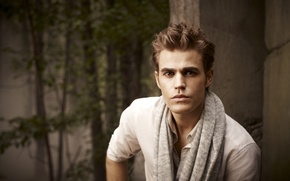 Обои Дневники вампира, Пол Уэсли, Vampire Diaries, Stefan Salvatore, Paul Wesley