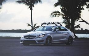 Картинка тюнинг, Mercedes-Benz, Мерседес, AMG, CLS 63, Vossen