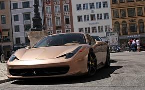 Картинка авто, улица, суперкар, Ferrari 458 Italia, Ферари 458 италия
