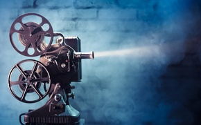 Картинка light, movie, film, film projector