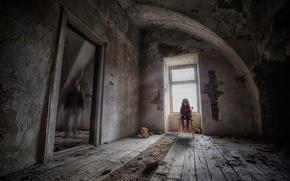 Картинка заброшенный дом, stop child violence, остановить насилие ребенка