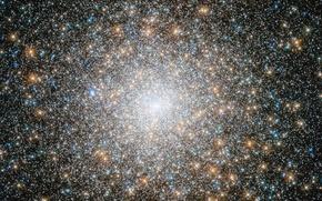 Картинка космос, звезды, скопление