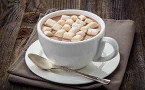 Картинка зима, горячий, чашка, напиток, hot, cup, какао, cocoa, зефир