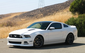 Картинка Mustang, Ford, GT 5.0, Matte Gunmetal, VMB5, Velgen