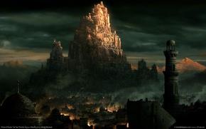 Картинка город, башни, восток, prince of persia