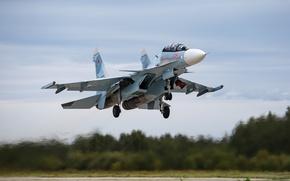 Обои самолёт, Su-30SM, армия