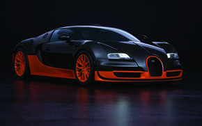 Обои bugatti veyron, 16.4, super sport, суперкар
