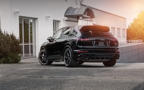 Обои Cayenne, Porsche, порше, TechArt, кайен