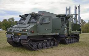 Обои ракетный комплекс, бронированный вездеход, Mk IIB IRIS-T SLS, BvS 10