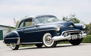 Картинка Coupe, передок, 1950, Oldsmobile, Олдсмобиль, Futuramic, 88 Club