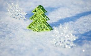 Картинка зима, снег, природа, новый год, рождество, christmas, merry christmas