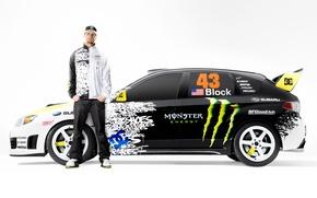 Картинка Subaru, monster, Ken Block, enegy