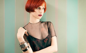 Картинка взгляд, стиль, группа, журнал, рок, Hayley Williams, Paramore, 2013, Хейли Уильямс, Тейлор Йорк, Bust Magazine