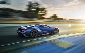 Картинка car, авто, скорость, трасса, Ford, track