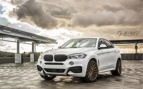 Картинка машина, авто, BMW, БМВ, wheels, диски, auto, 2015, Vossen Wheels