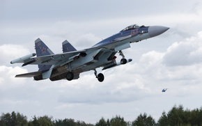 Картинка оружие, самолёт, Su-35S
