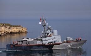 Картинка корабль, Молния, ВМФ, ракетный, Р-109, Черное море, РКА