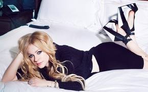 Картинка Аврил, певица, Лавин, Avril Lavigne, фотосессия, 2013, Glamoholic