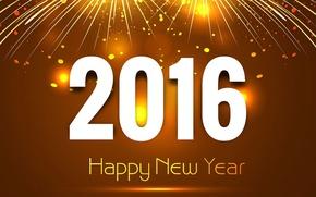 Картинка New, Happy, Year, 2016