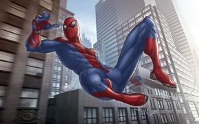 Картинка art, Spider-man, marvel comics, The Amazing, Patrick Brown, fan