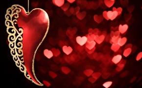 Картинка настроения, любовь, красный, сердце