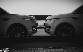 Картинка машина, авто, крыло, фотограф, перед, Range Rover, диски, auto, photography, photographer, Владимир Смит, Vladimir Smith
