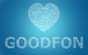 Картинка фон, абстракции, обои, goodfon, love, fon, good, пользователи, сайт, гудфон