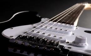 Картинка гитара, струны, инструмент