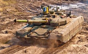 Обои танк, броня, украина, Т 84, оплот