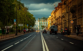 Картинка город, Эрмитаж, Санк-Петербург