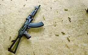 Картинка оружие, автомат, Калашникова, калаш, АКС74У