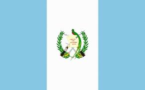 Картинка Флаг, Герб, Photoshop, Гватемала, Guatemala