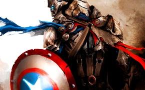Картинка marvel, средневековый, марвел, captain america, капитан америка, first avenger, первый мститель, мстители, steve rogers, avengers, …