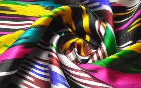 Картинка цвета, ткань, орнамент, атлас, узбекский