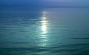 Картинка след, Вода, горизонт