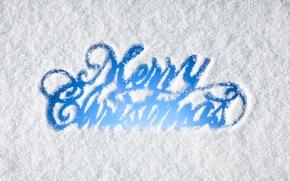 Обои winter, snow, merry, christmas, снег, зима