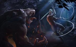 Картинка witcher, geralt, The Witcher 3: Wild Hunt, Ведьмак 3: Дикая Охота, CD Projekt RED