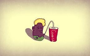 Картинка coca cola, old school, the rest, black boy