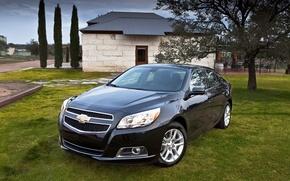 Картинка черный, Chevrolet, автомобиль, Malibu