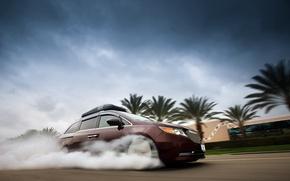 Картинка Honda, Smoke, 2014, Minivan, Odyssey, 1029hp