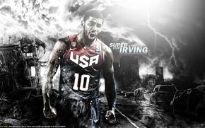 Картинка баскетбол, basketball, usa, nba, Kyrie Irving